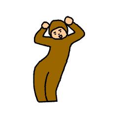 Happy brown messages sticker-5