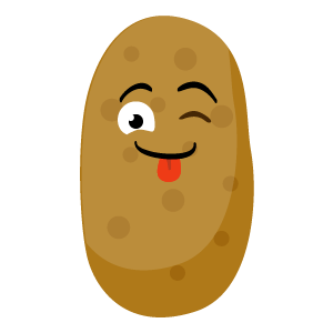 sweet potatoes emoji stickers messages sticker-11