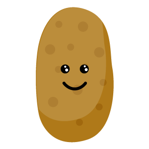 sweet potatoes emoji stickers messages sticker-10