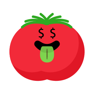 tomato funny stickers app messages sticker-7
