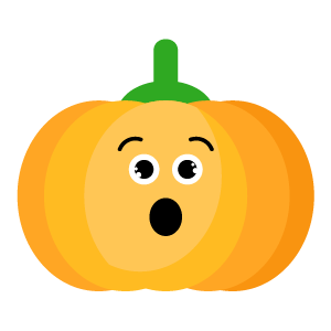 Red pumpkin emoji 2019 messages sticker-4