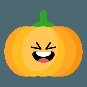 Red pumpkin emoji 2019 messages sticker-2
