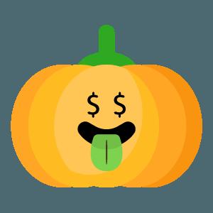 Red pumpkin emoji 2019 messages sticker-9
