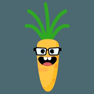 carot yellow emoji stickers messages sticker-1