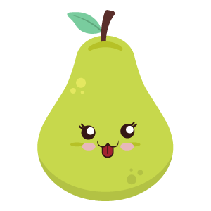 pear face funny stickers messages sticker-1