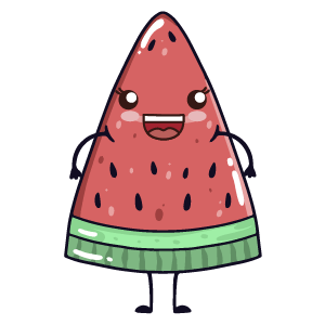 watermelon say stickers messages sticker-10