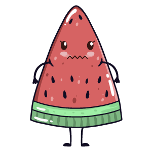 watermelon say stickers messages sticker-3