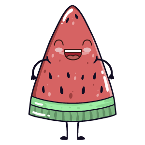 watermelon say stickers messages sticker-8