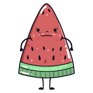 watermelon say stickers messages sticker-6