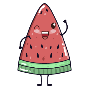 watermelon say stickers messages sticker-4