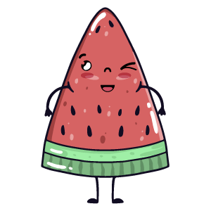 watermelon say stickers messages sticker-1