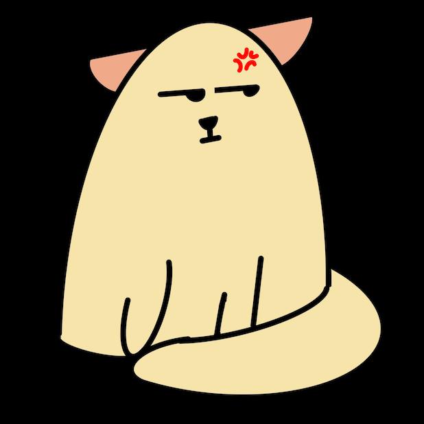 Cat Doodle Stickers messages sticker-11