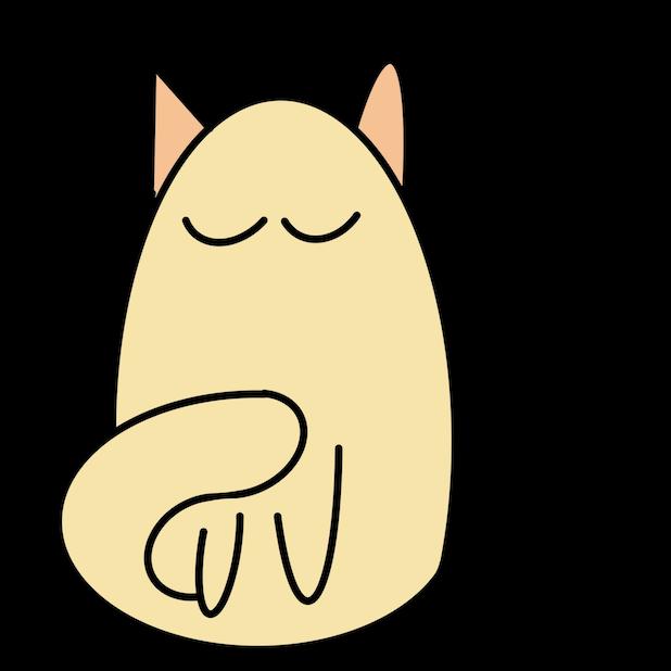Cat Doodle Stickers messages sticker-2