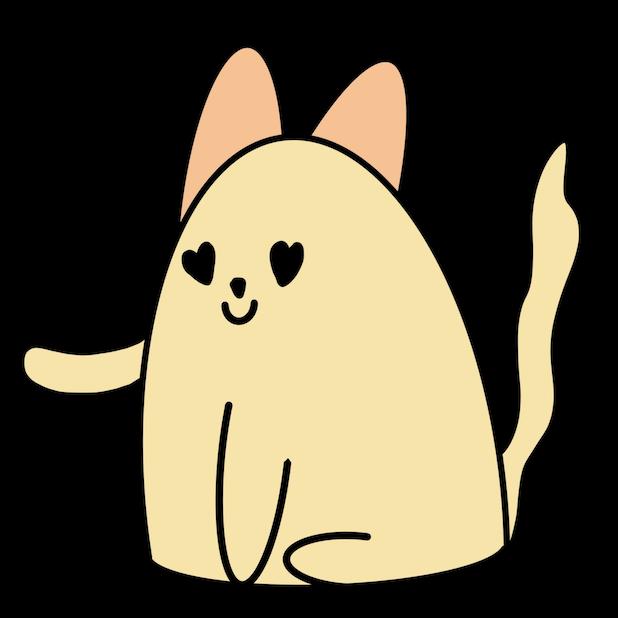 Cat Doodle Stickers messages sticker-0