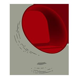 Midcentury Emojis messages sticker-1
