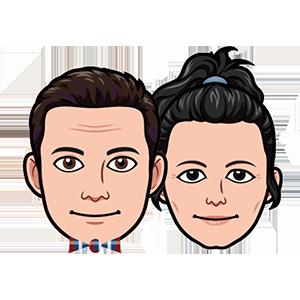 Midcentury Emojis messages sticker-11