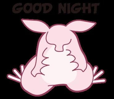 Pink Bat messages sticker-2
