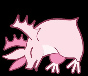 Pink Bat messages sticker-10