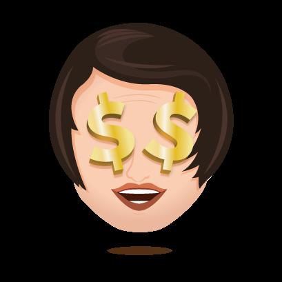 Rand Emojis Stickers messages sticker-4