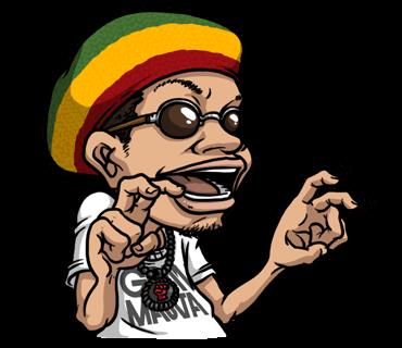 Hip Hop Culture - Animated messages sticker-11