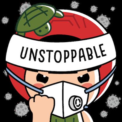 Ang Ku Kueh Girl - Unstoppable messages sticker-0