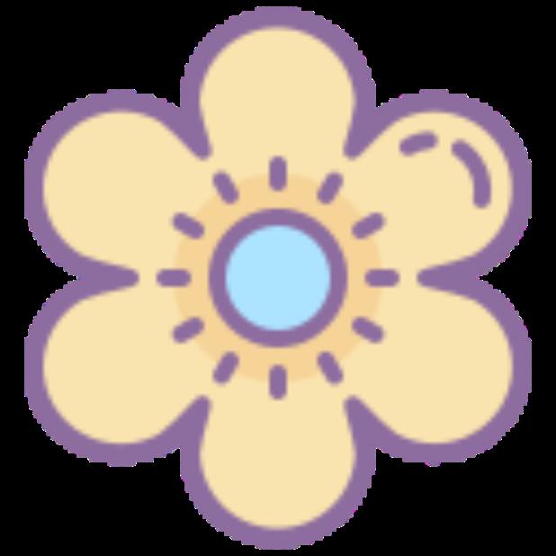 Flowers-Sticker messages sticker-7