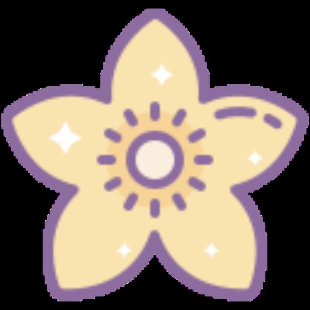 Flowers-Sticker messages sticker-0