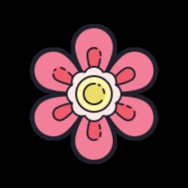 Flowers-Sticker messages sticker-11