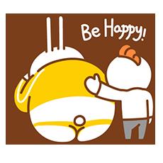 Fat Rabbit messages sticker-5