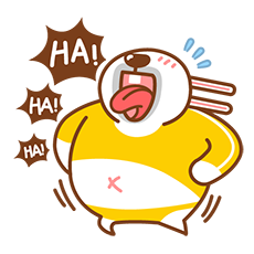 Fat Rabbit messages sticker-7