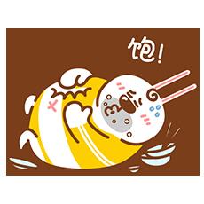 Fat Rabbit messages sticker-9
