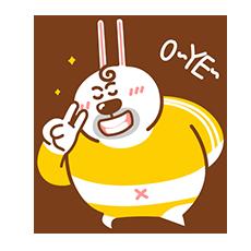 Fat Rabbit messages sticker-6