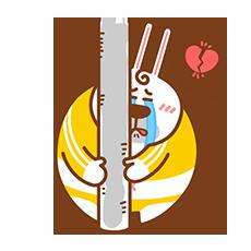 Fat Rabbit messages sticker-2
