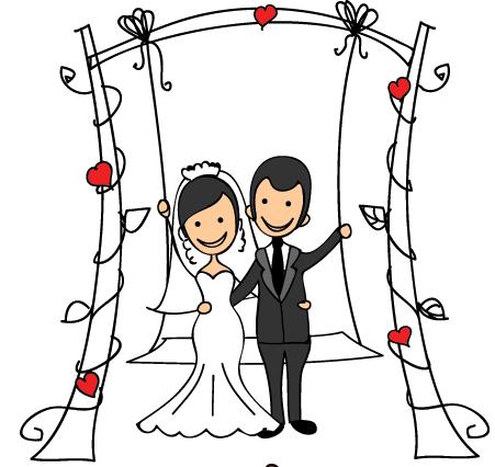 WeddingPoseSt messages sticker-2