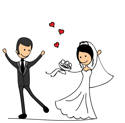 WeddingPoseSt messages sticker-1