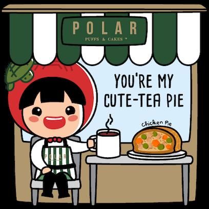 Polar Puffs & Cakes x AKKG messages sticker-6