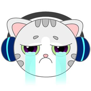 Sonic Cat-Slash the Beats messages sticker-1