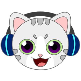Sonic Cat-Slash the Beats messages sticker-4