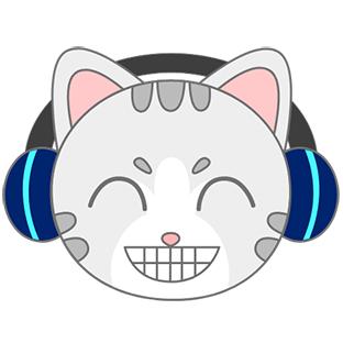 Sonic Cat-Slash the Beats messages sticker-3