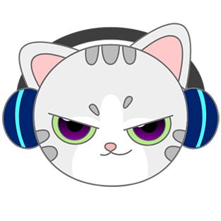 Sonic Cat-Slash the Beats messages sticker-2