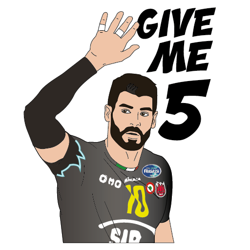 SIR Safety Perugia Volley Club messages sticker-1