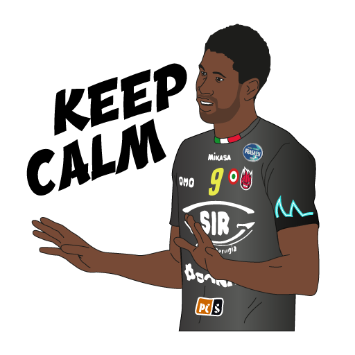 SIR Safety Perugia Volley Club messages sticker-6