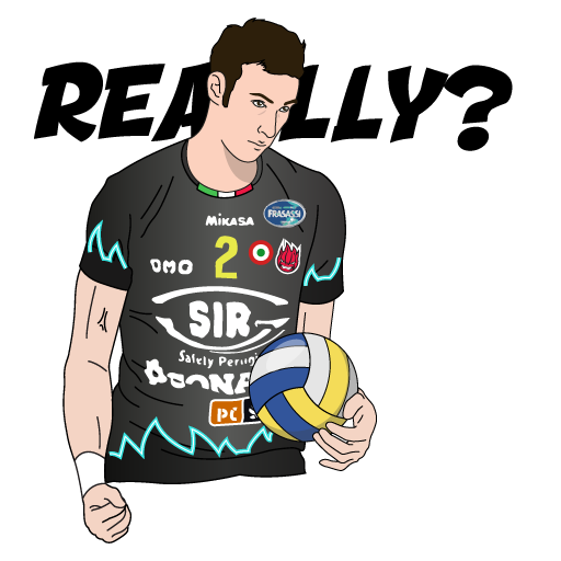 SIR Safety Perugia Volley Club messages sticker-5