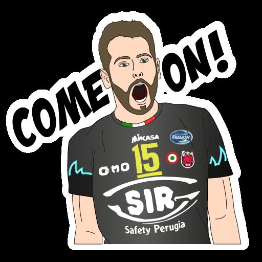SIR Safety Perugia Volley Club messages sticker-10
