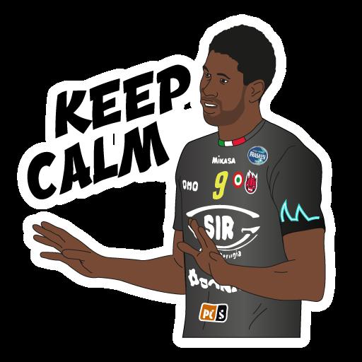 SIR Safety Perugia Volley Club messages sticker-6