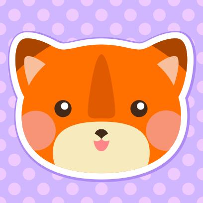 CuteAniLabelSt messages sticker-6