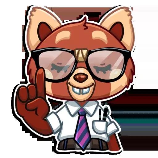 Fox Stickers messages sticker-2