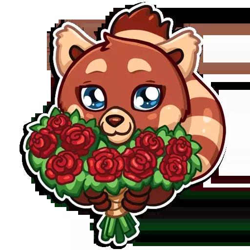 Fox Stickers messages sticker-6