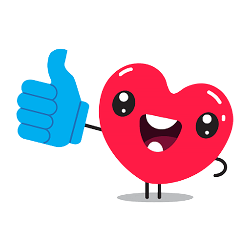 Hearts Stickers messages sticker-0