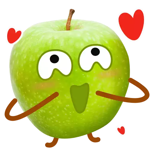 Fruit Stickers messages sticker-5